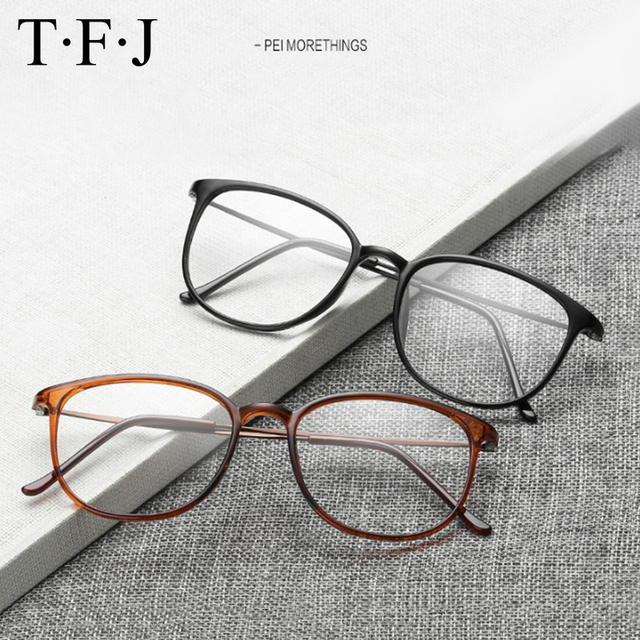 43efd8346 TFJ Óculos de armação óculos de armação homens mulheres óculos enquadrar  oculos de grau prescrição espetáculo