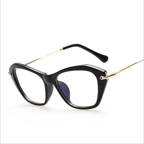 peekaboo 2016 new italy cat eye optical frames women anti radiation clear lens frames brand