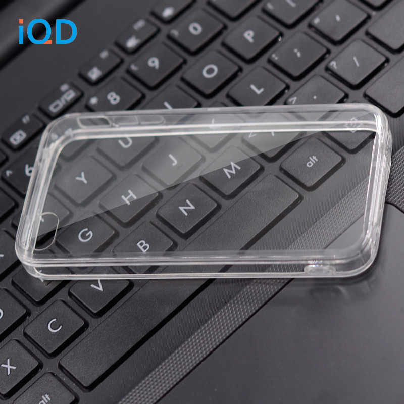 IQD для Apple iPhone 4S 4 Чехол, устойчивым к царапинам тонкий прозрачный чехол для iPhone 4 Обложка TPU Crystal Clear soфт + hard комбинации