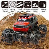 2.4G skala samochód rock clawler zdalnie sterowany RC samochód Supersonic monster truck pojazd terenowy Buggy zdalnie sterowanym samochodowym zabawki prezenty dla dzieci duża sprzedaż