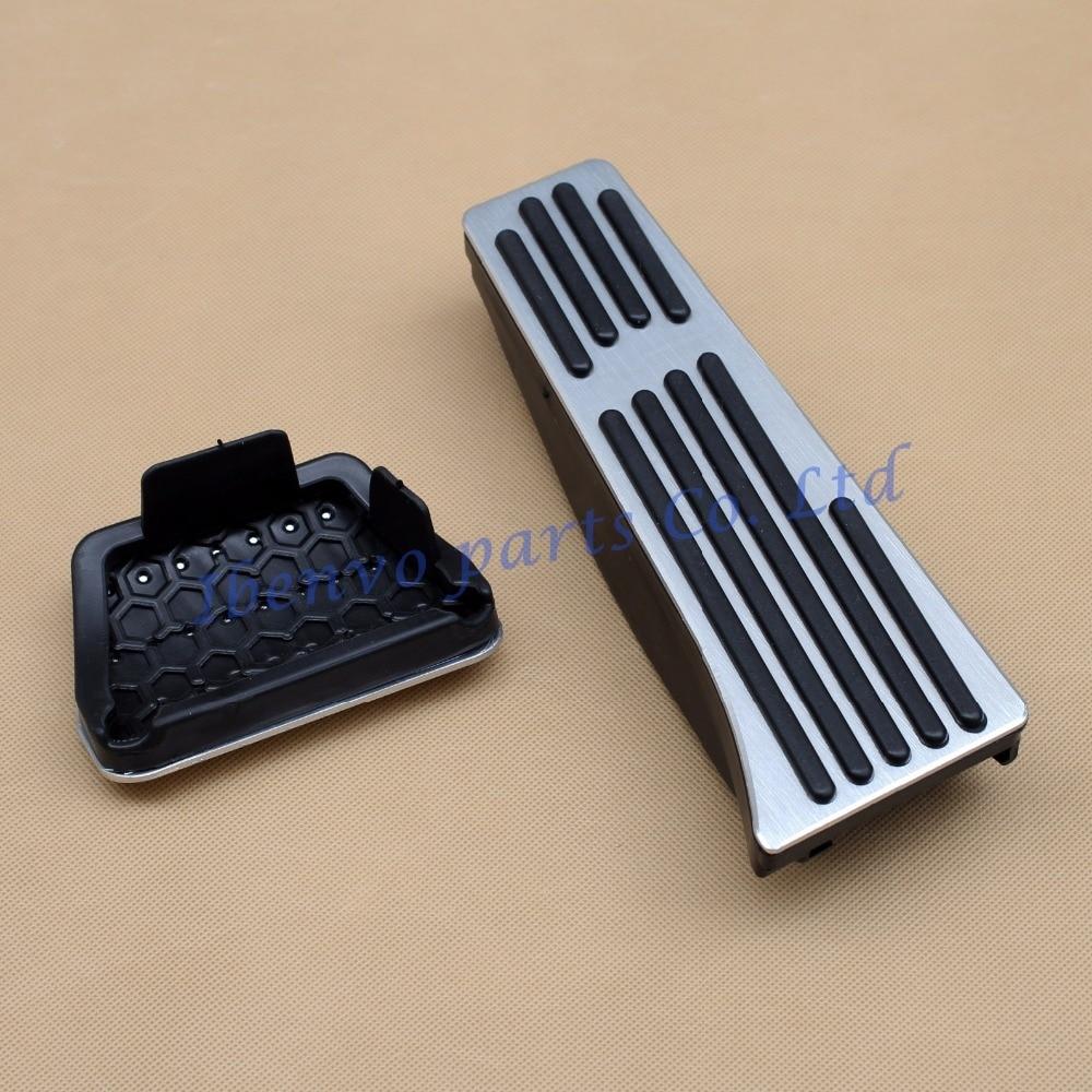 for BMW E90 F10 F12 F01 F25 E70 E71 E89 No Drill Aluminum Gas Brake Pedal Covers Accessories Fits: BMW 3 5 6 7 Series X3 X5 X6 Z4