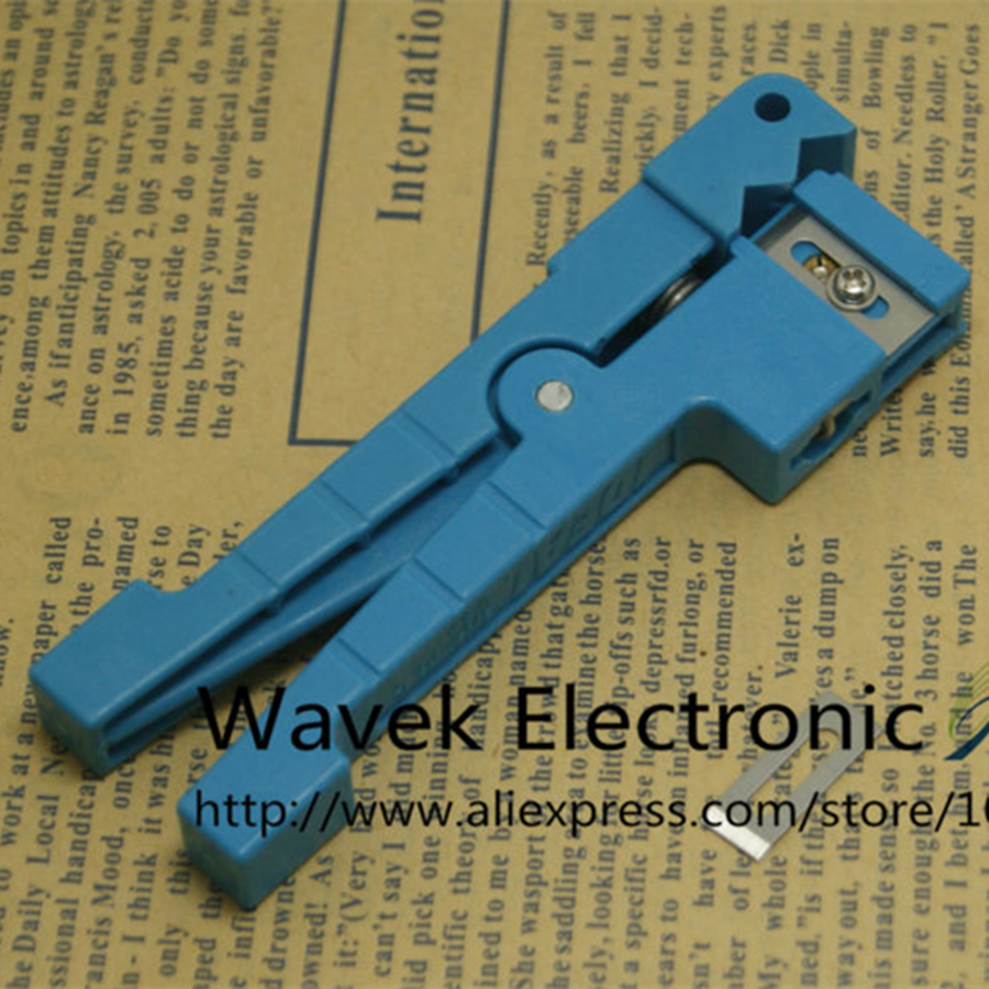 Ideal 45-163 pelador de Cable Coaxial/pelador de Cable de fibra óptica pelador de fibra óptica envío gratuito