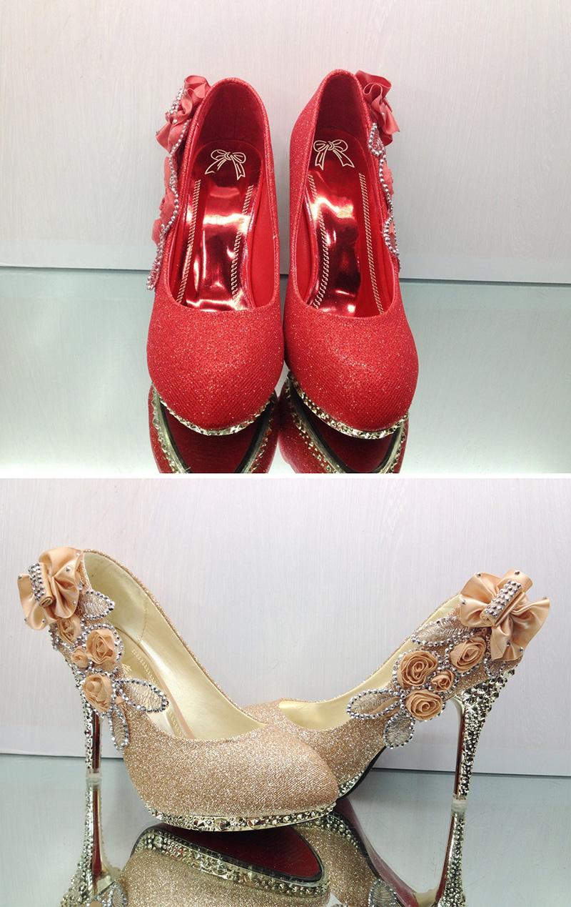 19 Colorful Wedding Shoes Women Pumps Sexy Ladies Super High Heels Fashion Party Women Shoes Thin Heel 8cm 10cm YX721 7