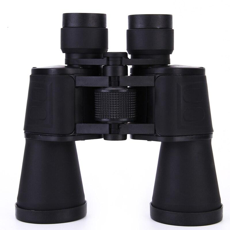 Tricolor 20X50 Compact HD Binoculars Asika Zoom Binoculars Bak4 Prism Optical Free Shipping Camping Binoculars free shipping 2015 new 8x42 waterproof bak4 roof prism binoculars 118m 1000m long range high end binoculars hot sale
