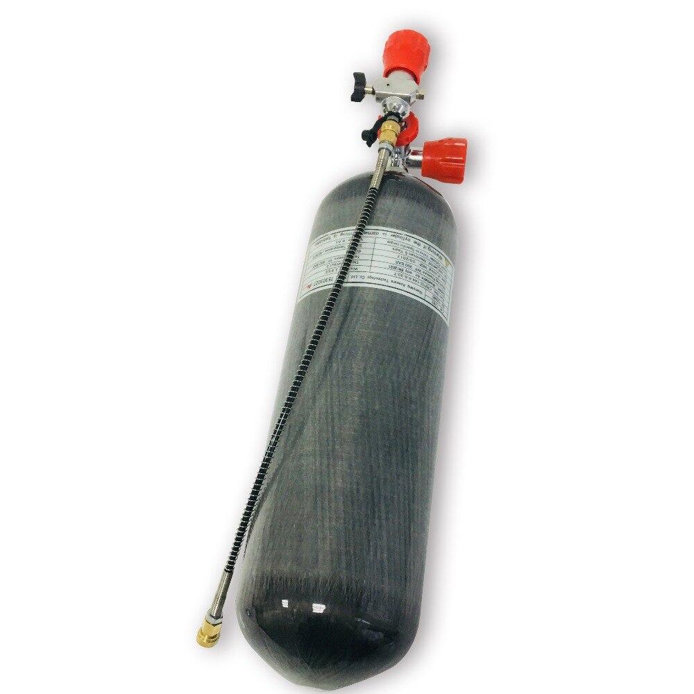 Hot sale 6.8L 30Mpa 4500psi Import Carbon Fiber Air Tank PCP Rifle Bottle With Gauge Valve/Paintball Tank AcecareHot sale 6.8L 30Mpa 4500psi Import Carbon Fiber Air Tank PCP Rifle Bottle With Gauge Valve/Paintball Tank Acecare