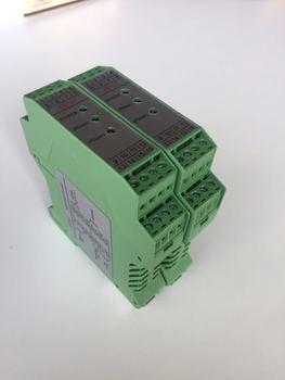 High Precision Proportional Valve Controller ADE Digital, Hydraulic Proportional Valve Amplifier Guide Rail Installation