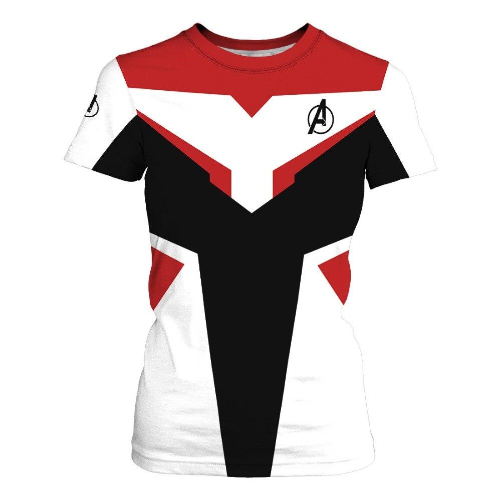 2019 New Avengers 4 Endgame Quantum Realm Print Men 39 s T Shirt Unisex Fashion Short Sleeve Avengers T Shirt Summer Top T Shirt in T Shirts from Men 39 s Clothing