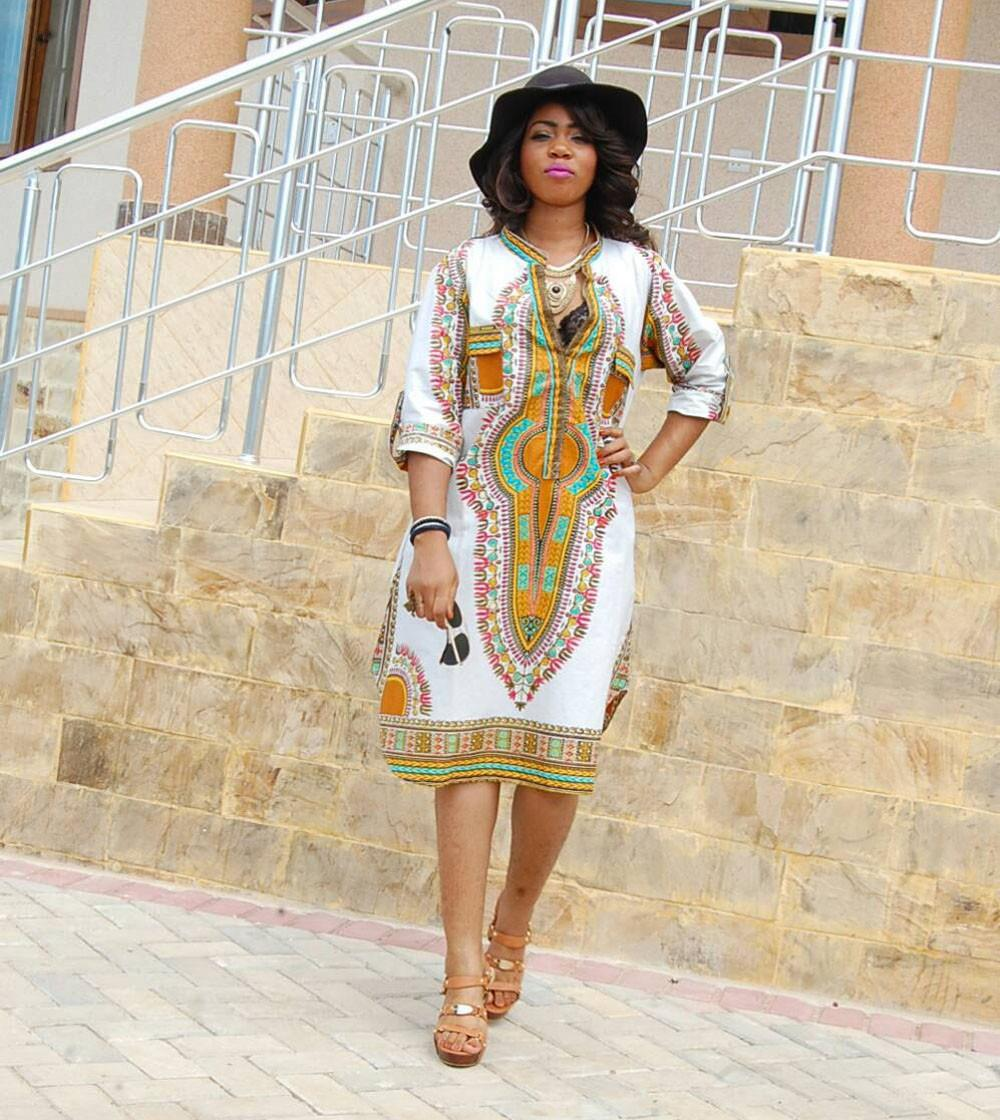 393730d8a076e US $10.23 32% OFF|2017 Summer Women Traditional African Print Party Dress  New Design Dashiki Dress Sexy Casual Dresses Clothing Plus Size XL-in ...