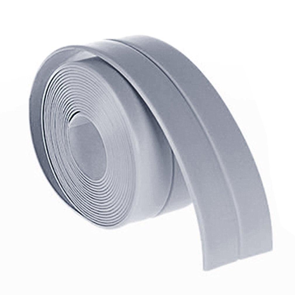 38mm*3.2M Home Kitchen Bathroom Bathtub Wall Sealing Tape Strips Mildew Resistant Self Adhesive Tape For Sink Basin Waterproof