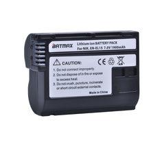 Batterie de caméra pour Nikon D500,D600,D610,D750,D7000,D7100,D7200,D800,D850,D810,D810A et 1 V1, 1 pièce