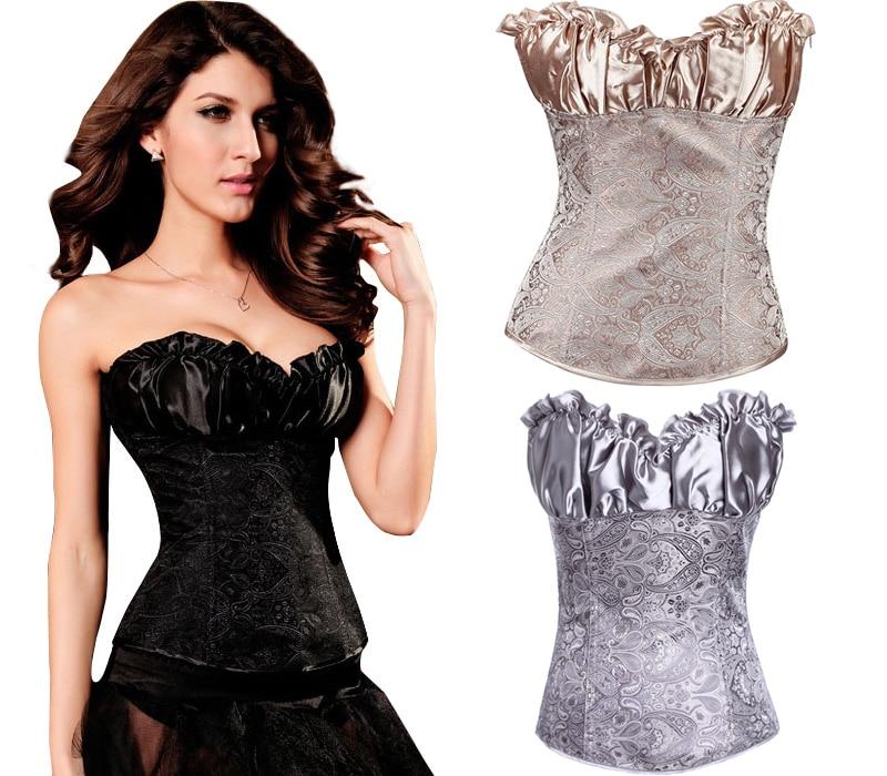 NEW lace jacquard wedding underbust Sexy lingerie Waist Workout Cincher Body font b Shaper b font