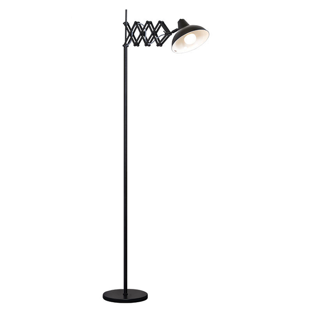 Nordic Floor Lamps unfoldable floor Lights spider arm metal ...