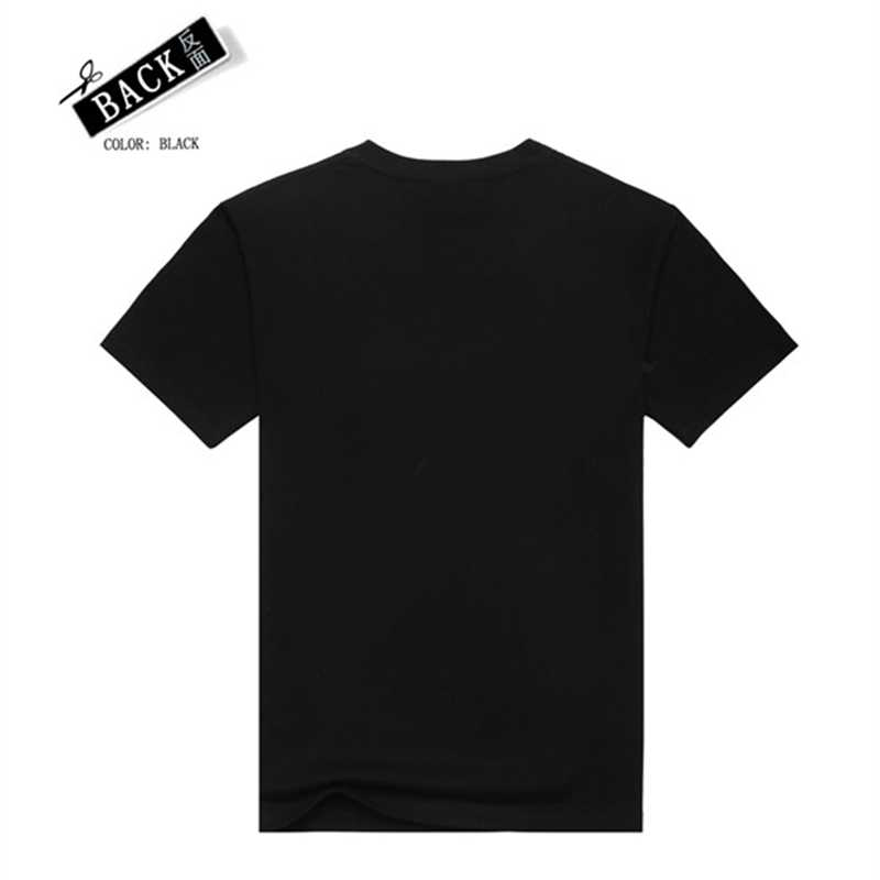 [Pria dan] Tee Pria T Shirt 3D T-shirt Tshirt Kemeja Pria Kebugaran Katun Bob Marley Cetak Rock hip Hop Reggae Pakaian Hitam