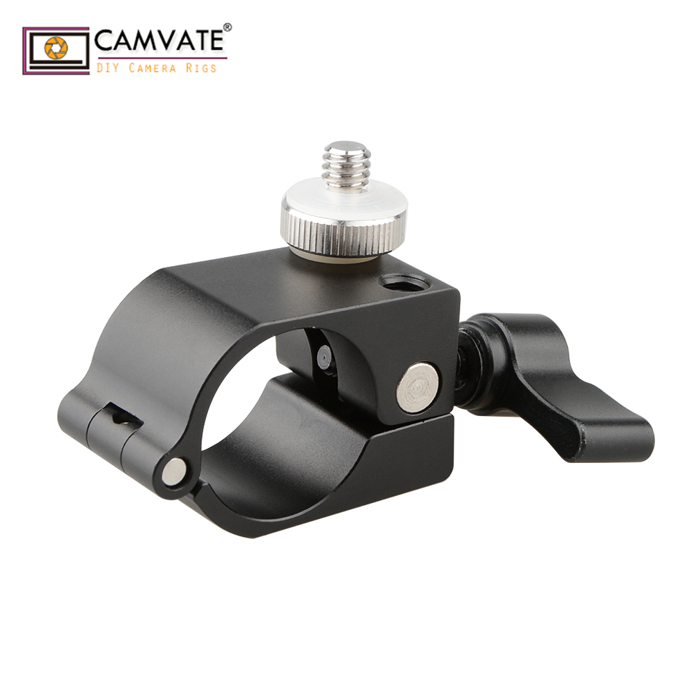 "mount accessory w CAMVATE Accessory Mount Ersatzteil 25mm Rod Hole w/ 1/4""-20 Screw for DJI Ronin-M C1258 camera photography accessories (2)"