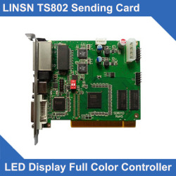 Synchronous Video Control Card TS802D Sending Card Full Color LED Module Controller Card TS801 TS802 led display sending card
