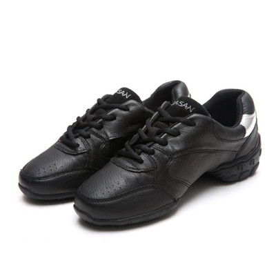 Sports Square Dance Shoes Woman Sports Leather Shoes Dancing Soft Bottom Shoes Modern Jazz Women Shoes
