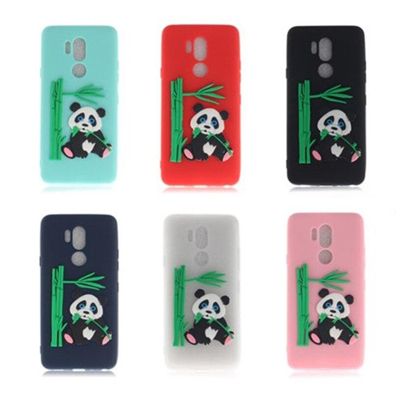 Ordentlich Hemasoly Fall Für Lg G7 Silikon Fall Für Lg G7 Weichen Fall Luxus 3d Panda Cartoon Candy Farbe Telefon Fall Handytaschen & -hüllen