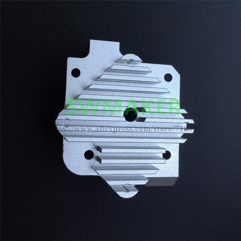SWMAKER Titan Aero Heat sink 1.75mm mirrored version for Titan extruder upgrade kit V6 hotend for DIY 3D printer spare parts