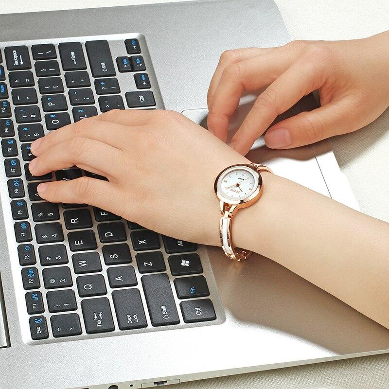 Lyxiga Kvinnor Klocka Berömda Märken Guld Mode Design Armbandsur - Damklockor - Foto 4