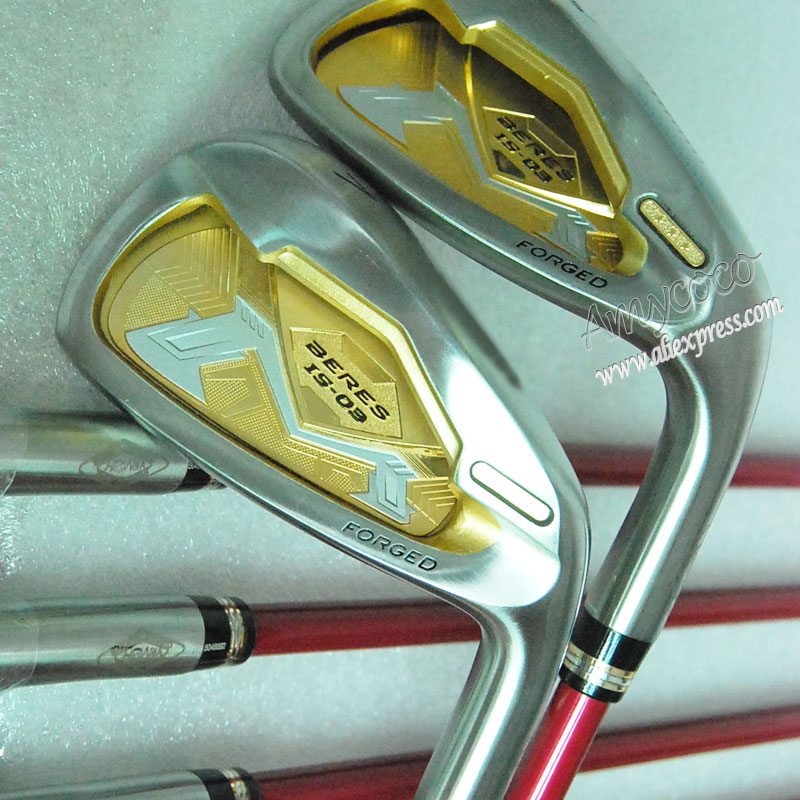 Cooyute Baru Womens Klub Golf HONMA S-03 3 Star Golf Irons 5-11.Aw.Sw IS-03 setrika Graphit Golf shaft dan headcover Gratis pengiriman