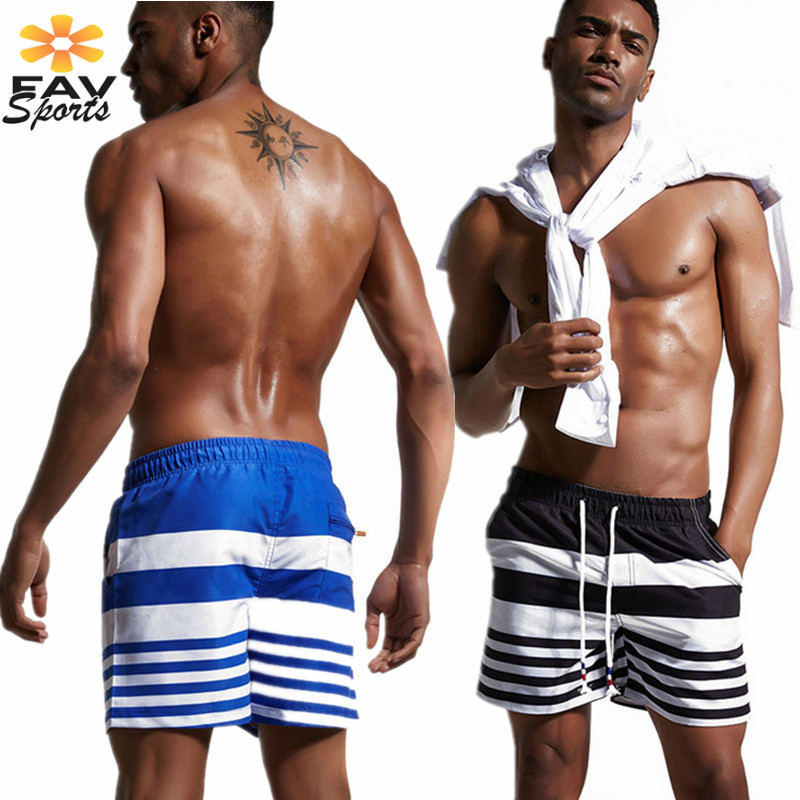 Men's   Board     Shorts   Summer Swimming Trunks Surfing Beach Pants Elastic Waist Sports Pants Boxer Briefs