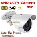NUEVA 1.0MP AHD CCTV Cámara A Prueba de agua Color de la Imagen Con Filtro IRCUT Vigilancia Analógica de Alta Definición 720 P CCTV Cámaras Al Aire Libre