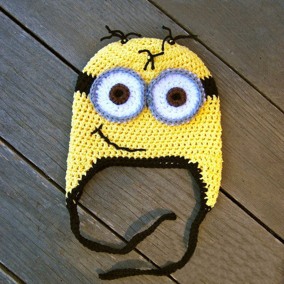 crochet minion hat crochet beanie hat beanie babies halloween costume toddler girl & crochet minion hat crochet beanie hat beanie babies halloween ...