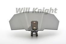Universal Adjustable Ekran Szyby Ciemny Dym Przyciemniane Szyby Spoiler Air Deflektor dla Harley Yamaha Suzuki BMW