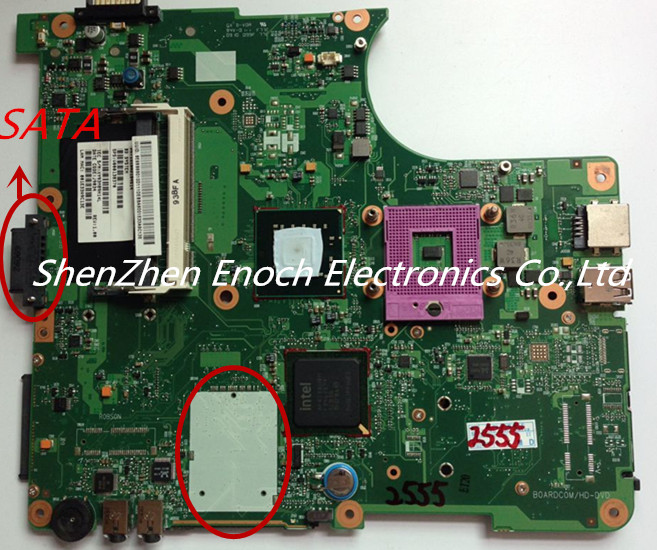 все цены на  For Toshiba Satellite L300 L305 Laptop motherboard Integrated V000138370 6050A2170401-MB-A03  онлайн