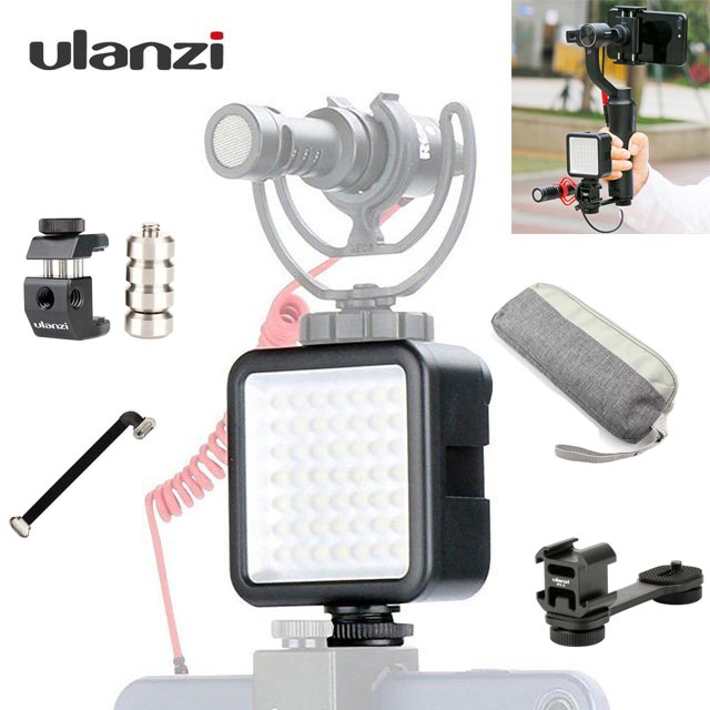 Zhiyun Smooth 4 LED Light Video Photo Studio Light for dji osmo mobile 2 pocket smartphone gimbal zhiyun smooth 4 accessories qZhiyun Smooth 4 LED Light Video Photo Studio Light for dji osmo mobile 2 pocket smartphone gimbal zhiyun smooth 4 accessories q