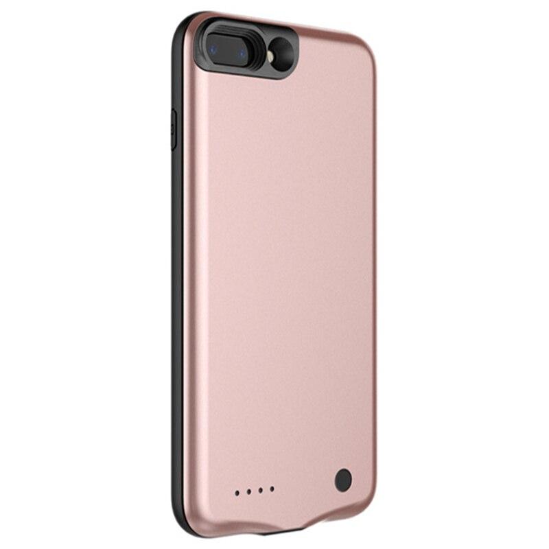 imágenes para 2500/3650 mAh Cargador de Batería Externa Caso De Baseus iphone 7 Plus 6 Más 6 S Más Banco de Energía de Respaldo Portátil Contraportada Casos