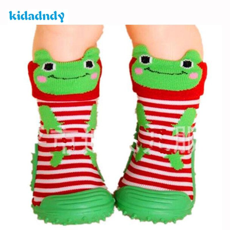 Kidadndy Baby Socks Rubber Soles Infant Animal