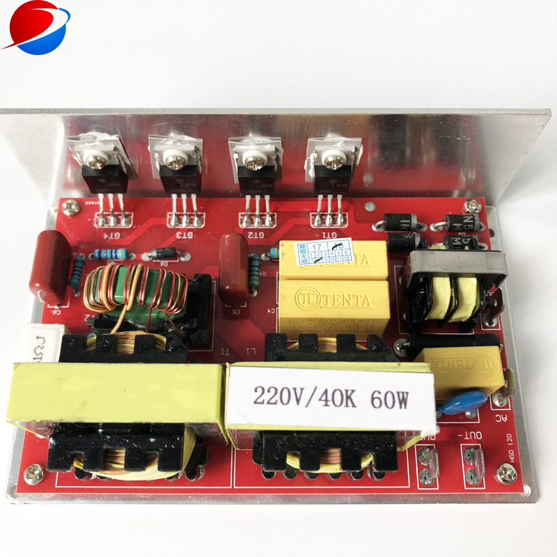 Ultrasonic Cleaning Driver Circuit/ultrasonic Generator Circuit PCB 60W With CE And FCC