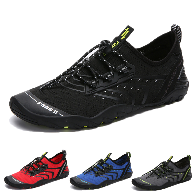 Coco-Z 2019 New Summer Casual Couple Water Shoes Pool Beach Swim Drawstring Creek Diving Shoes