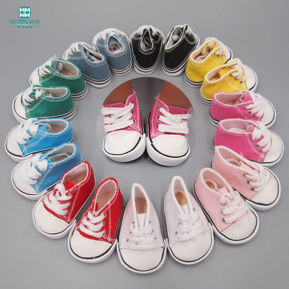 цены Baby Born Doll Shoes Sneakers Shoes fits 43cm Zapf Baby Born and American girls Doll Accessories