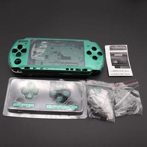 Image 3 - 1Set Voor PSP3000 Psp 3000 Shell Oude Versie Game Console Vervanging Volledige Behuizing Cover Case Met Knoppen