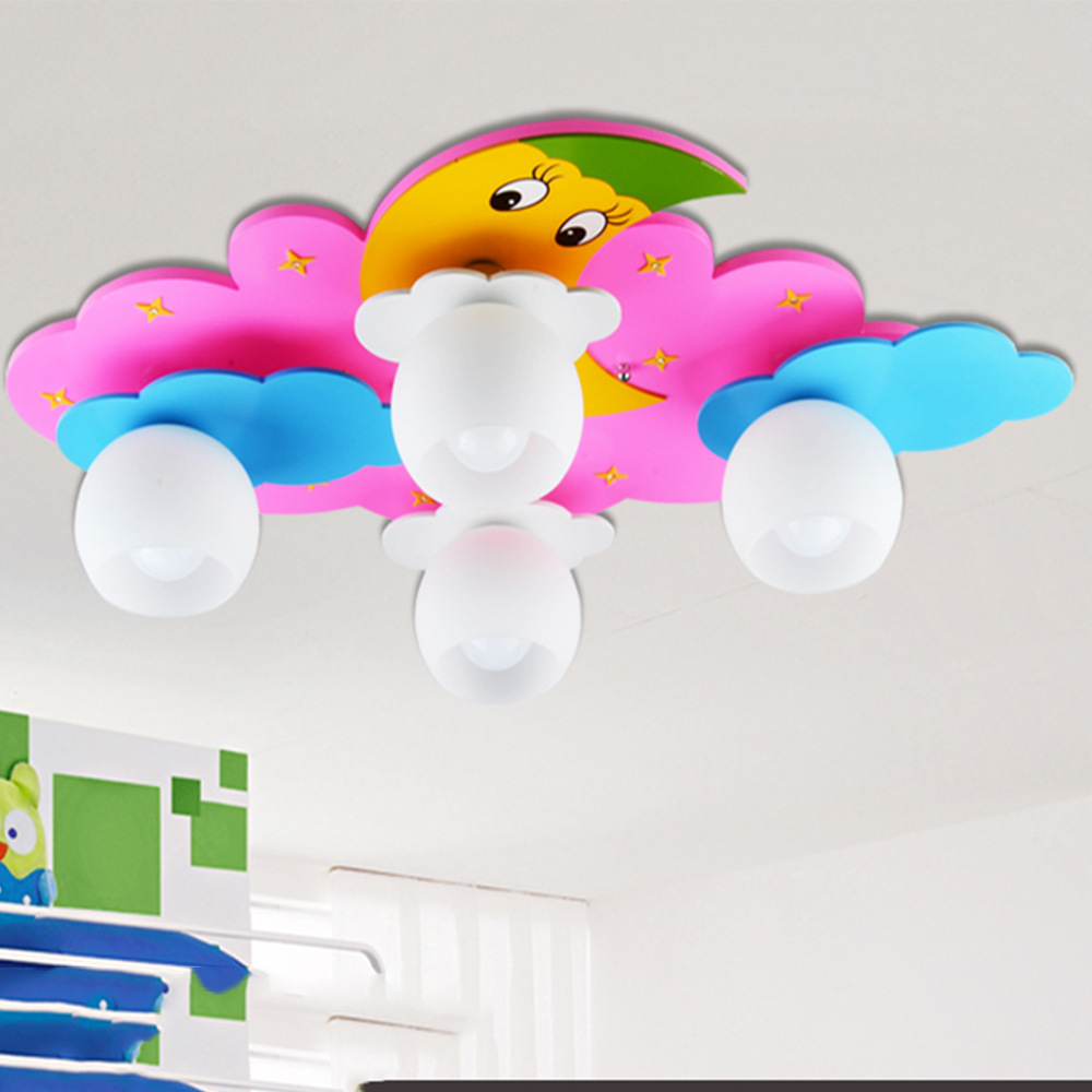 Kids bedroom ceiling lights - Ceiling Light Led Kids Rainbow Led Ceiling Lights Bedroom Kids Acrylic Shade E27 110 220v