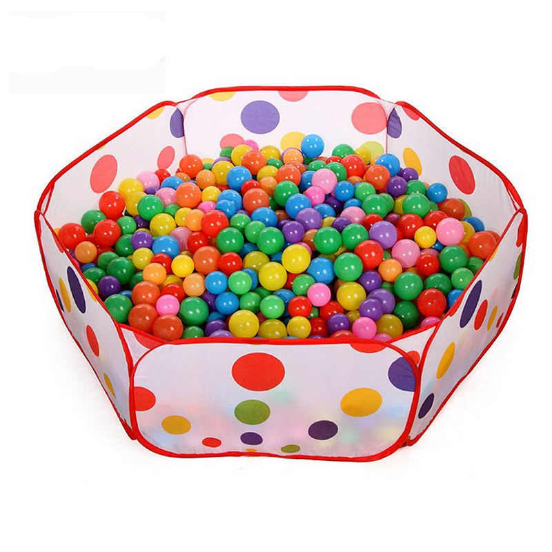 1/50/100 pcs Nadar Divertido Bola Colorida de Plástico Macio Oceano Bola Brinquedo Seguro Baby Kid Pit fr024
