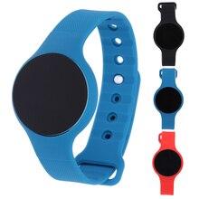 Bluetooth Smart часы Приборы для измерения артериального давления сердечного ритма Мониторы трекер Шагомер напоминание для Android и IOS H01 Smart Напульсники