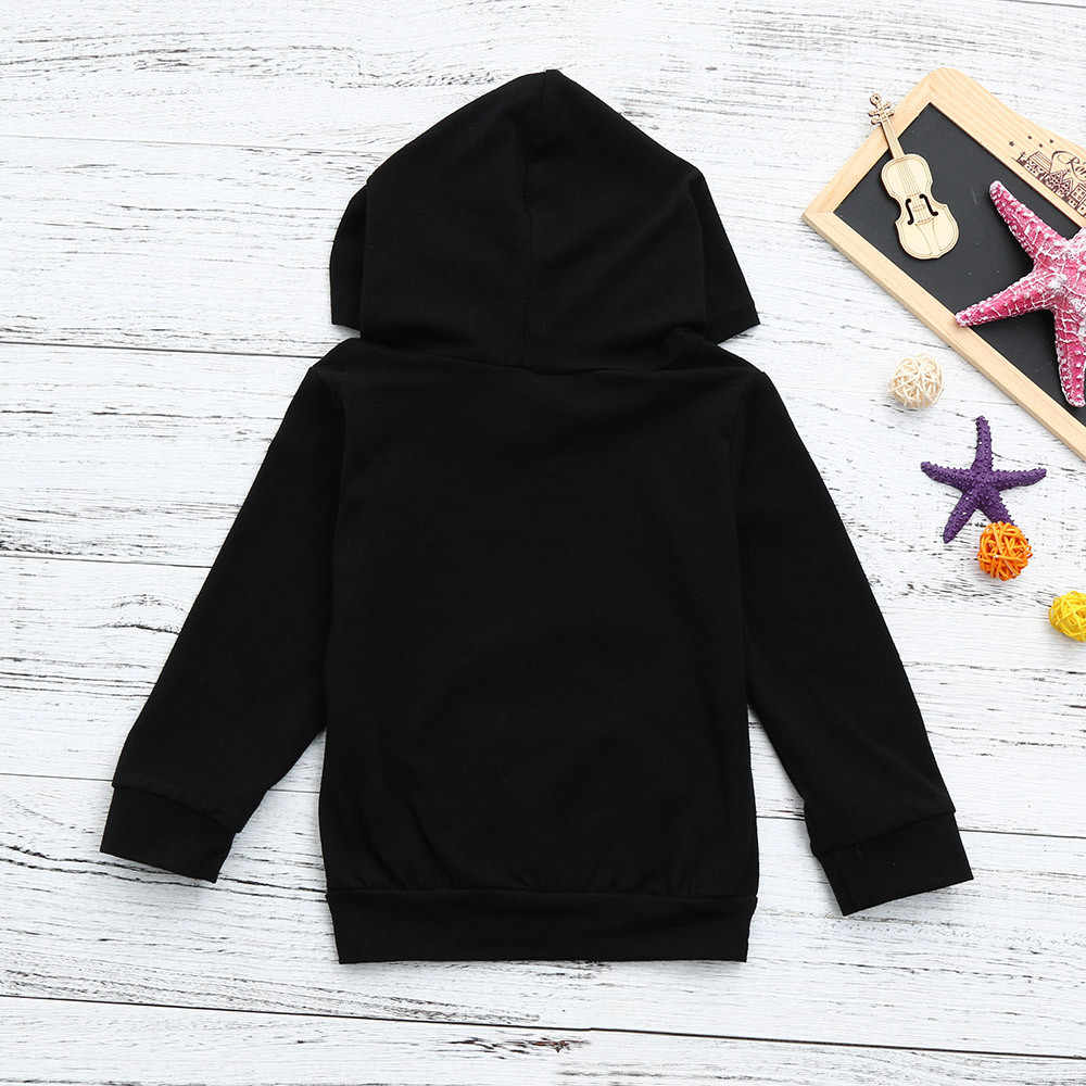 CHAMSGEND 208 NEW Fashion Toddler Baby Boys Girls Hooded Sweatshirts Infant Letter Blouse Hoodies Tops Drop Ship Oct24 HOT