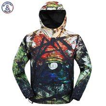 2017 Mr.1991INC New Style Men's 3d Windbreaker Jacket Zipper Hooded Jacket Thin Print Fashion Coat With Cap