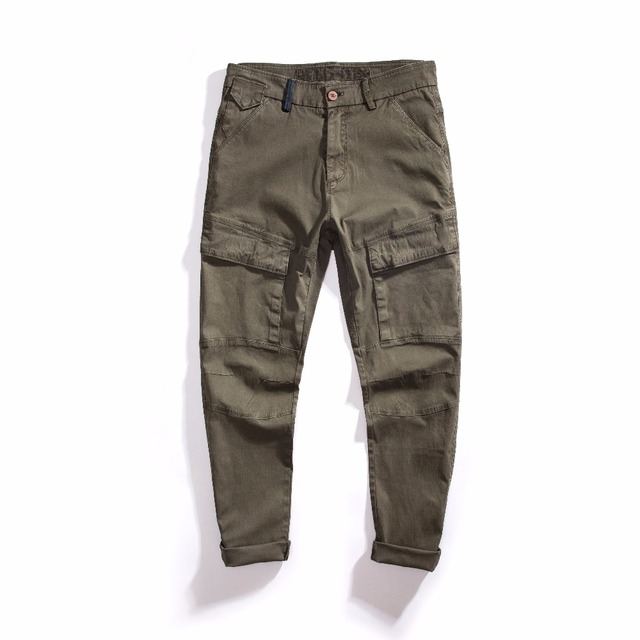 Clothing Men Cargo Pants Vintage Military Baggy Cargo Pants Army Style  Casual Pants Men Pants 8e99d7b7d29