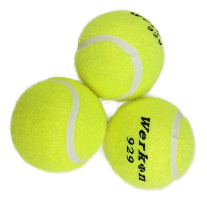 כדור אימון טניס באיכות גבוהה 3 יחידות עבור כדורי טניס למתחילים אימוני גמישות גבוהה צהובה עבור תחרות אימון 2018