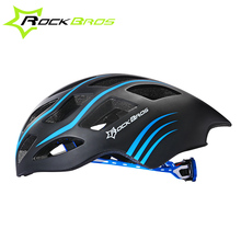 ROCKBROS Bicycle Helmet Ultralight Cycling Helmet Integrally-molded Road Bike Helmet Capacete Casco Ciclismo 256G 57-62 CM