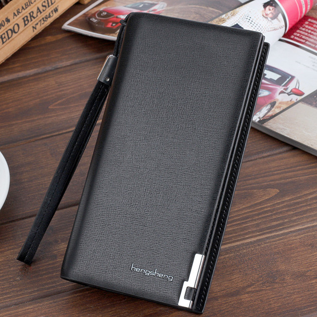 2018 mens wallet pu leather business card holder long wallets men 2018 mens wallet pu leather business card holder long wallets men coin purse zipper black coffee colourmoves
