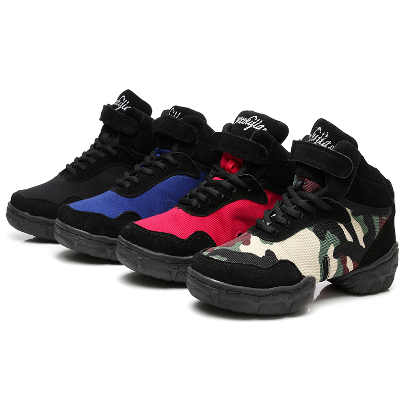huge selection of e26ed 6b35f US $29.76 52% di SCONTO|Scarpe di Tela degli uomini delle nuove Donne di  Marca Scarpe Danza Moderna Jazz Hip Hop Danza Sneakers Scarpe Pratica  Scarpe ...