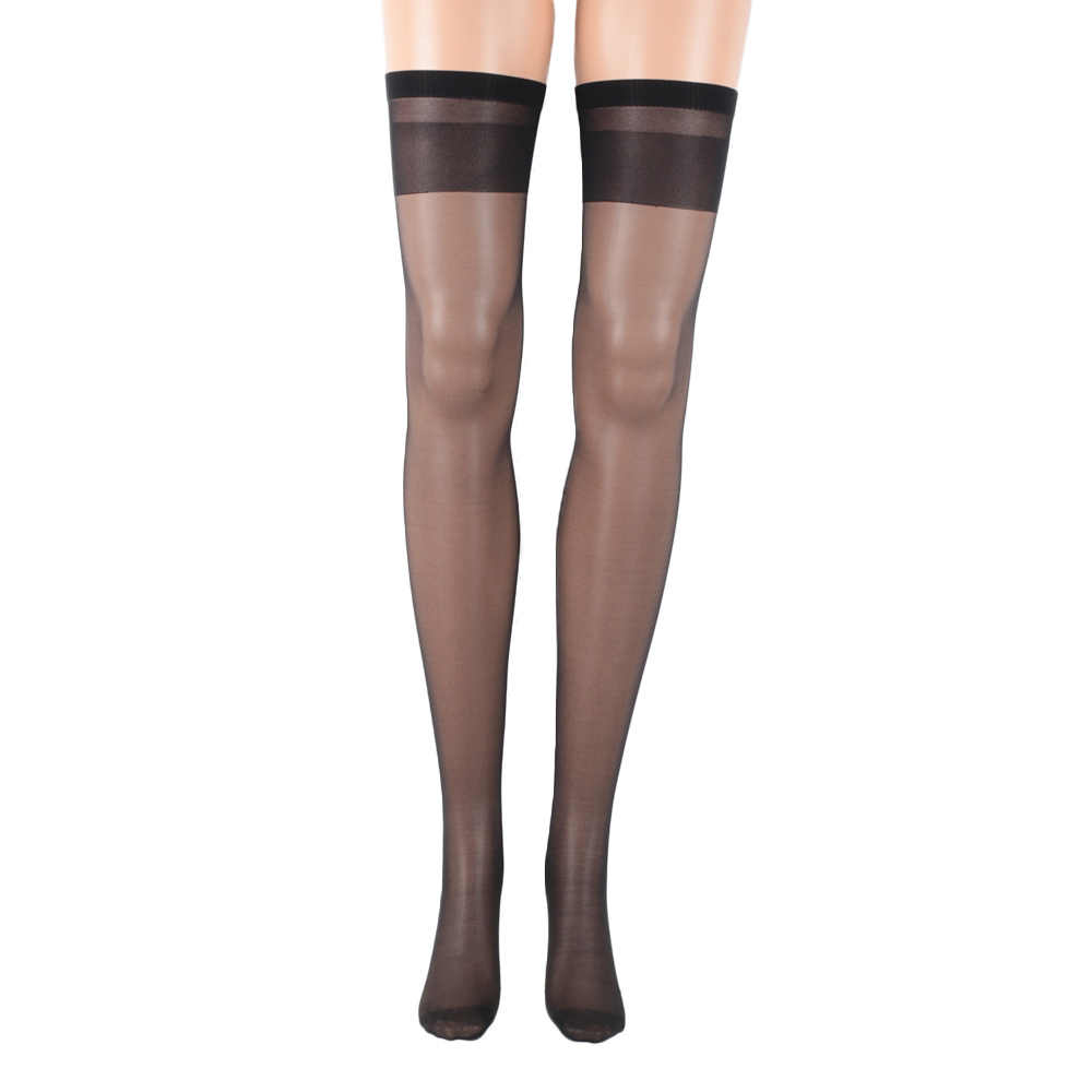 1bf97ad3e2fd2 ... 1 Pair High Quality Women Girls Sexy Nylon Solid Color Lace Top Stay Up  Thigh- ...