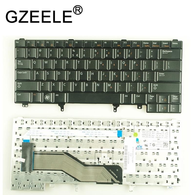 GZEELE New US Keyboard For Dell Latitude E5420 E5430 E6320 E6330 E6430 English Without Point Stick
