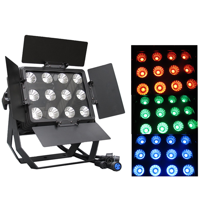 Stage Lighting Effect Dutiful Professional Lighting 12pcsx15w 3 In 1 Rgb Led Waterproof Par Wash Light Led Wall Washer Dmx Stage Lighting For Night Club