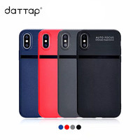 10pcs Lot Wholesale Luxury Shockproof Carbon Fiber Matte Soft TPU Back Cover For IPhone X Case
